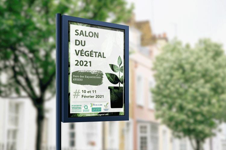 Affiche Salon Végétal 2021