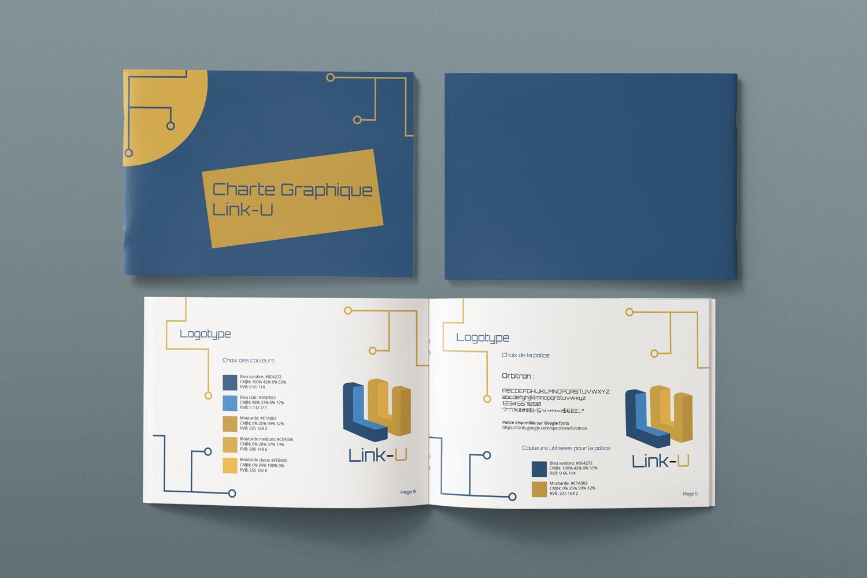 Charte Graphique - Link-U